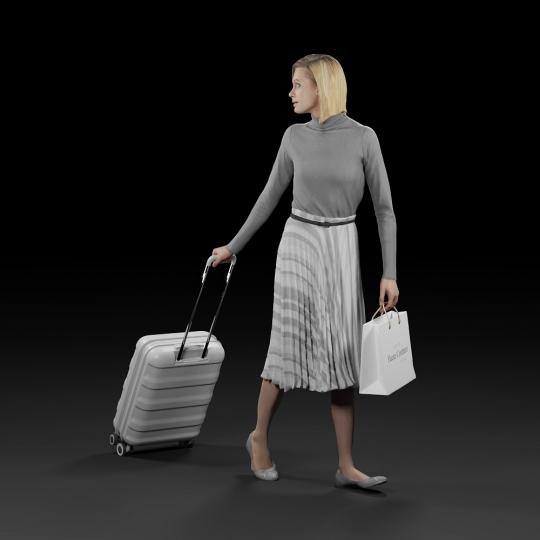 chocofur blender 3D model Elegant Humano Elegant 09