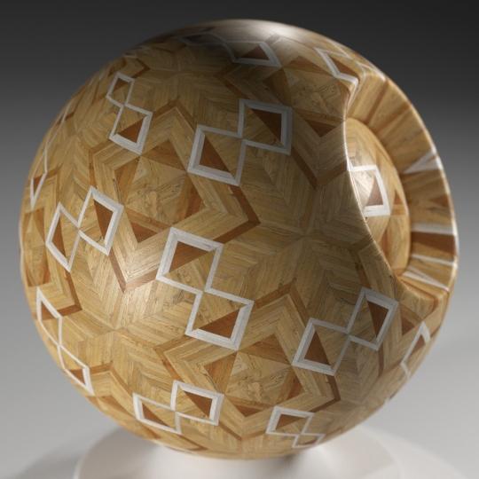 chocofur blender 3D model Wood Chocofur Wood Patterned 11
