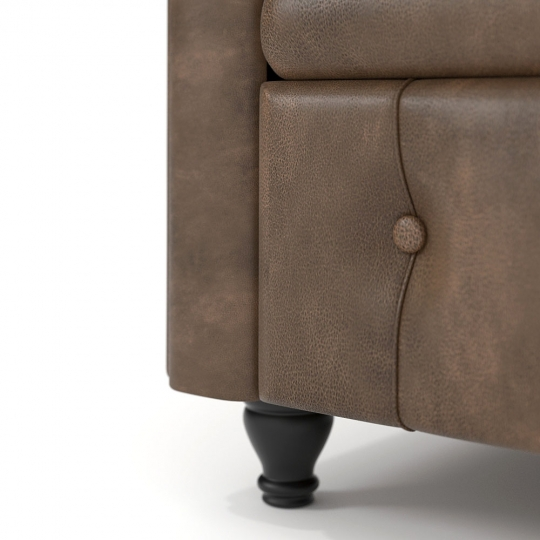 chocofur blender 3D model Sofas Fabrics 29