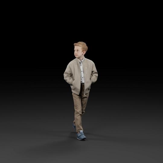 chocofur blender 3D model Elegant Humano Elegant 07