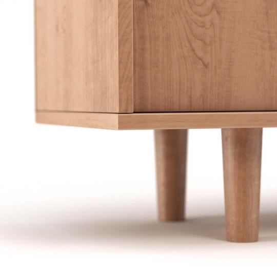 chocofur blender 3D model Sideboards Wood 09