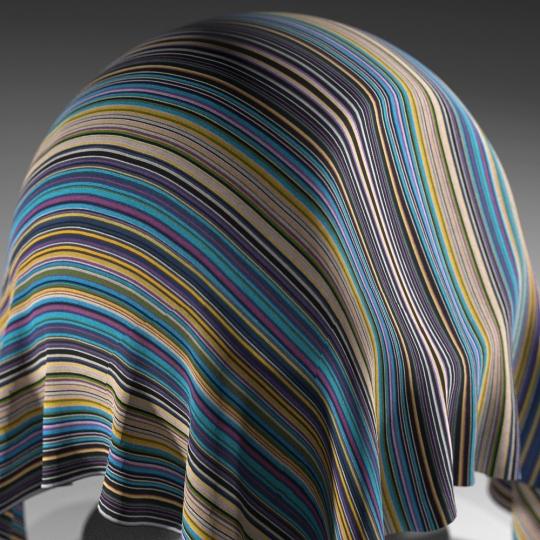 chocofur blender 3D model Fabric Chocofur Fabric Patterned 09