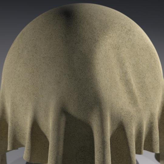 chocofur blender 3D model Leather Chocofur Leather Suede 03