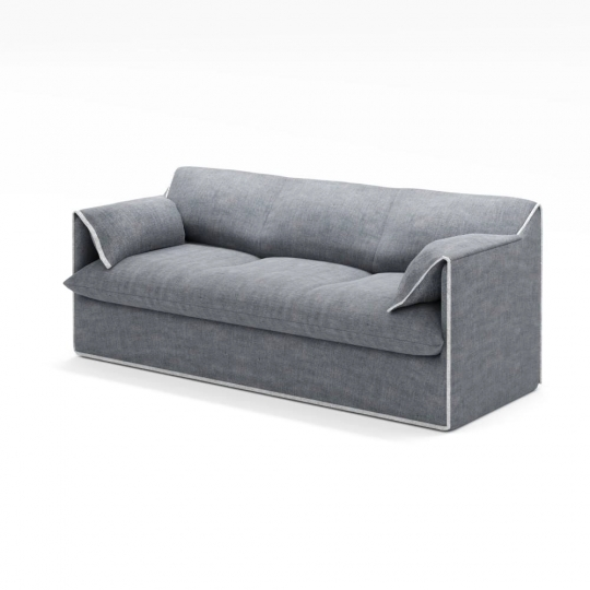 chocofur blender 3D model Sofas Sofa 01