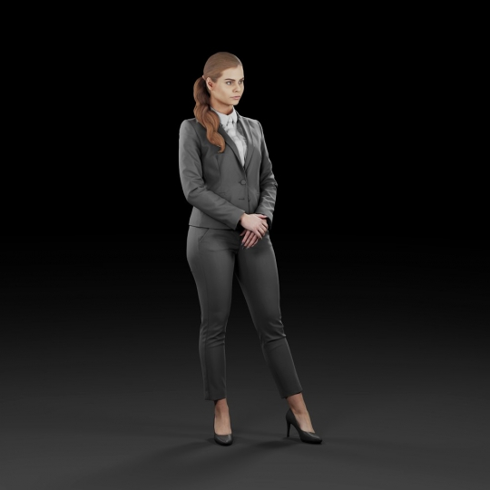 chocofur blender 3D model Elegant Humano Elegant 12