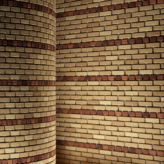 chocofur blender 3D model Brick Brick Pattern 12