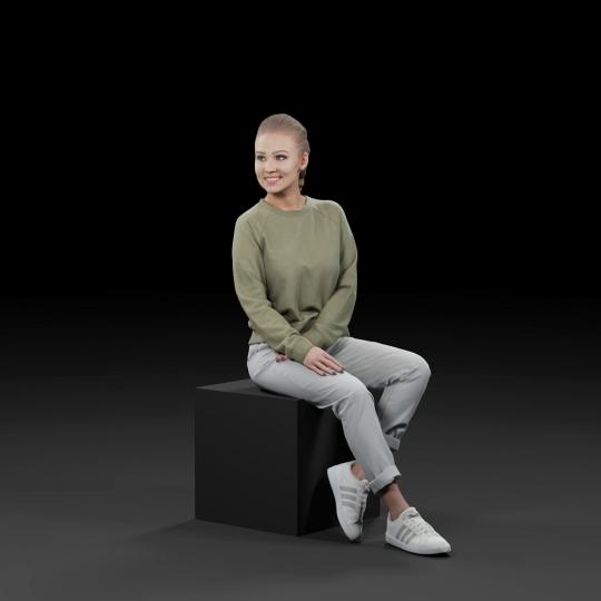 chocofur blender 3D model Casual Humano Casual 18