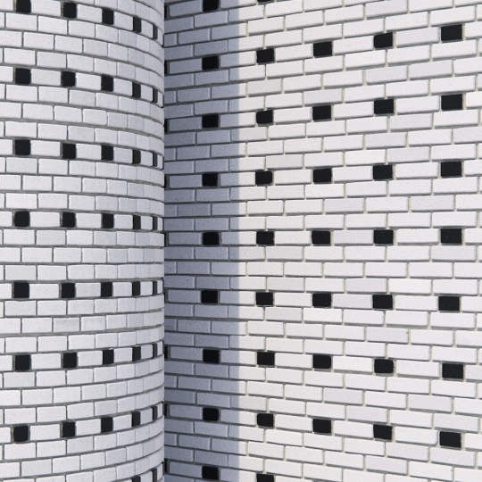 chocofur blender 3D model Brick Brick Pattern 08