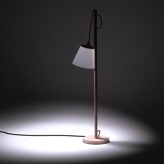 chocofur blender 3D model Lamps Light 04