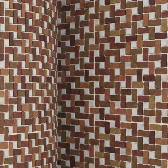 chocofur blender 3D model Brick Brick Pattern 04