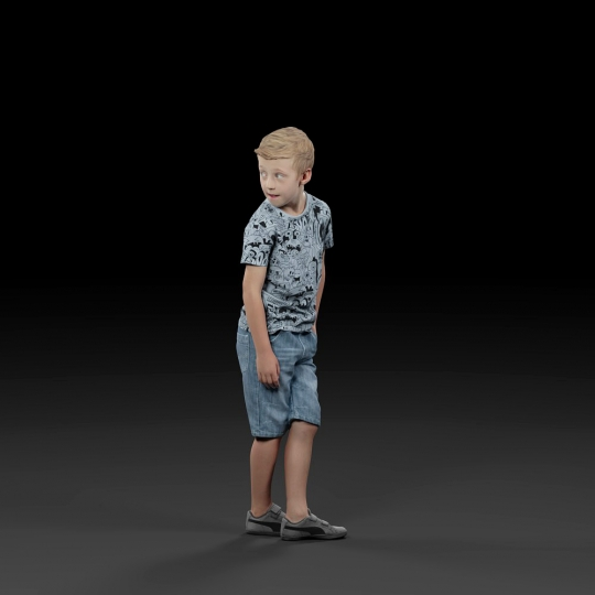 chocofur blender 3D model Casual Humano Casual 08
