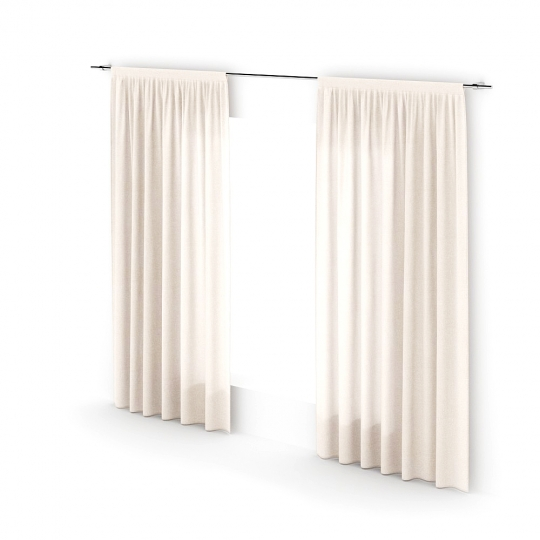 chocofur blender 3D model Curtains Curtain_10