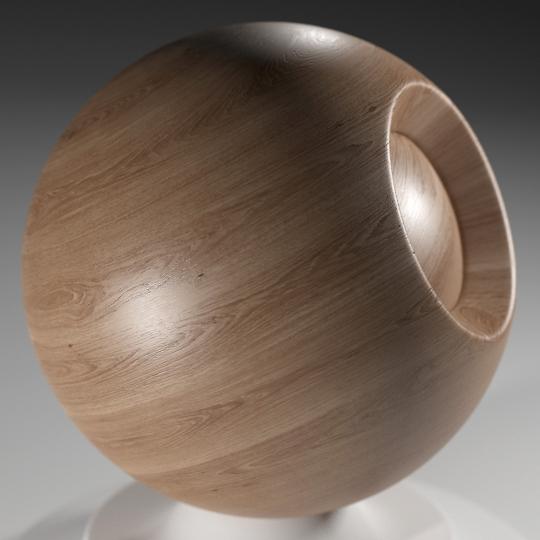 chocofur blender 3D model Wood Chocofur Wood Solid 03