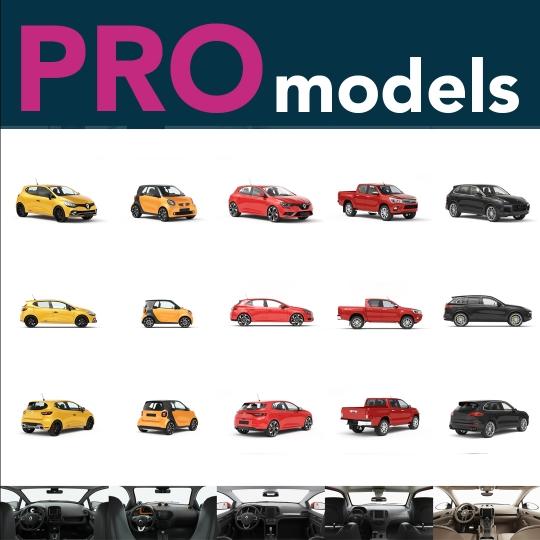 chocofur blender 3D model Bundles Chocofur PRO 3D Car Models for Blender