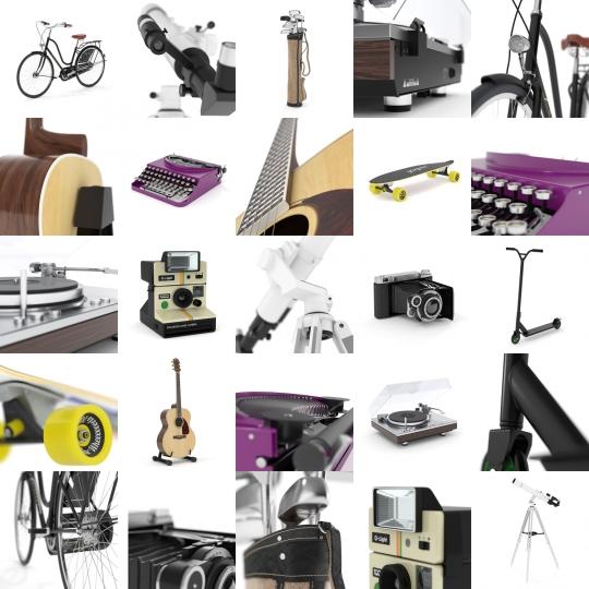 chocofur blender 3D model Bundles Chocofur PRO 3D Accessories for Blender