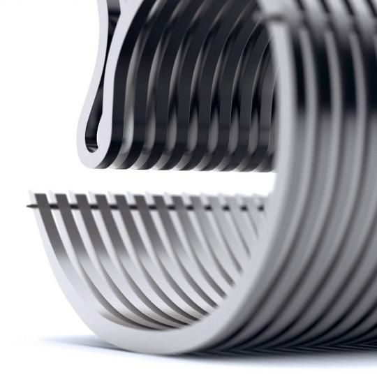 chocofur blender 3D model Lounge Steel 04