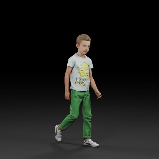 chocofur blender 3D model Diverse Humano Diverse 12