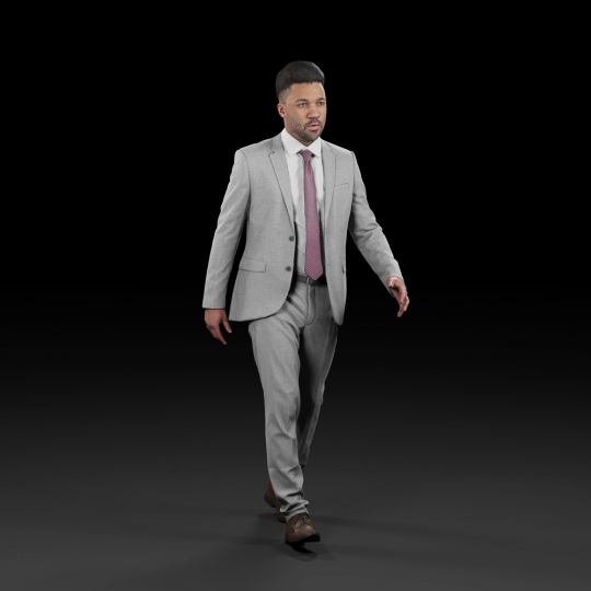 chocofur blender 3D model Elegant Humano Elegant 02