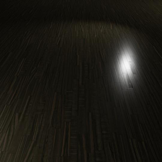 chocofur blender 3D model Wood Flooring Wood Flooring 01 Ebony