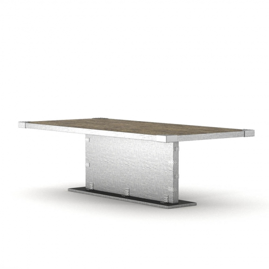 chocofur blender 3D model Tables Free 02 Steel