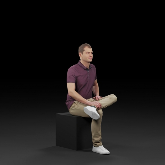 chocofur blender 3D model Diverse Humano Diverse 14