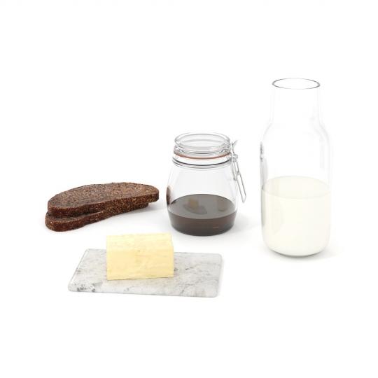 chocofur blender 3D model Food Food 18