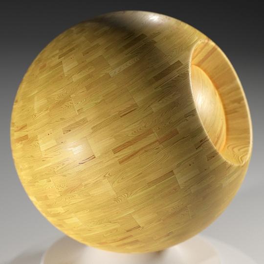 chocofur blender 3D model Wood Chocofur Wood Simple 05