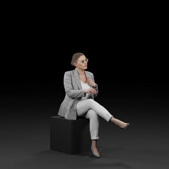 chocofur blender 3D model Elegant Humano Elegant 20