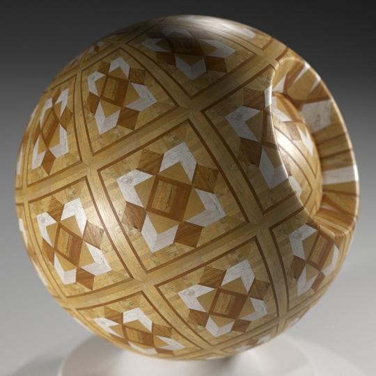 chocofur blender 3D model Wood Chocofur Wood Patterned 03
