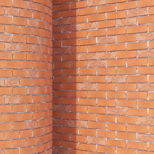 chocofur blender 3D model Brick Brick Simple 06