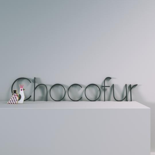 chocofur blender 3D model Studio Chocofur Free Scene 04