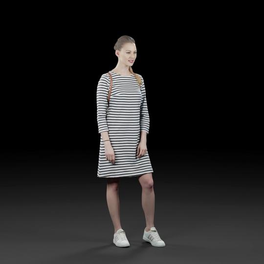 chocofur blender 3D model Casual Humano Casual 13