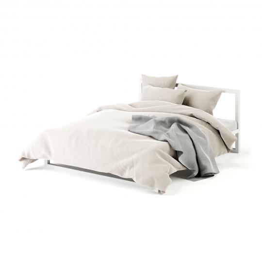 chocofur blender 3D model Beds Bed 11