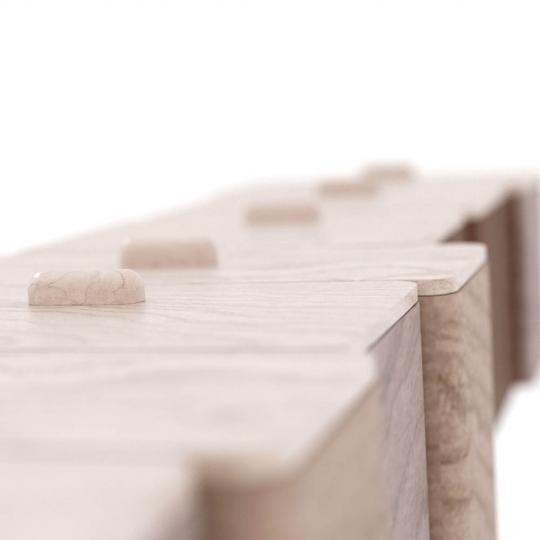 chocofur blender 3D model Storage Wood 19