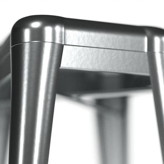 chocofur blender 3D model Stools Steel 43