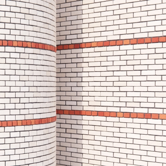 chocofur blender 3D model Brick Brick Pattern 15