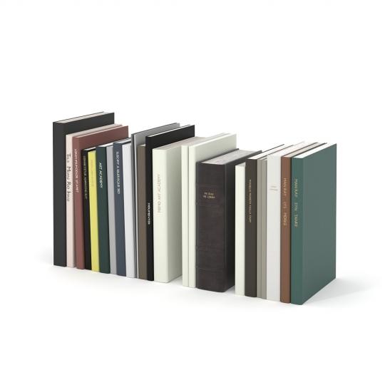 chocofur blender 3D model Books Books 01