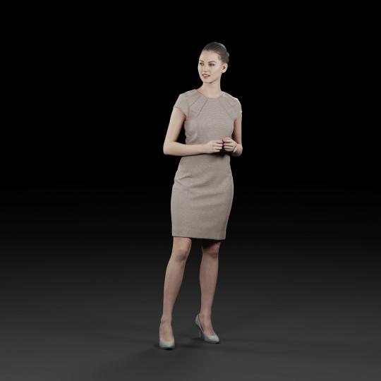 chocofur blender 3D model Elegant Humano Elegant 16