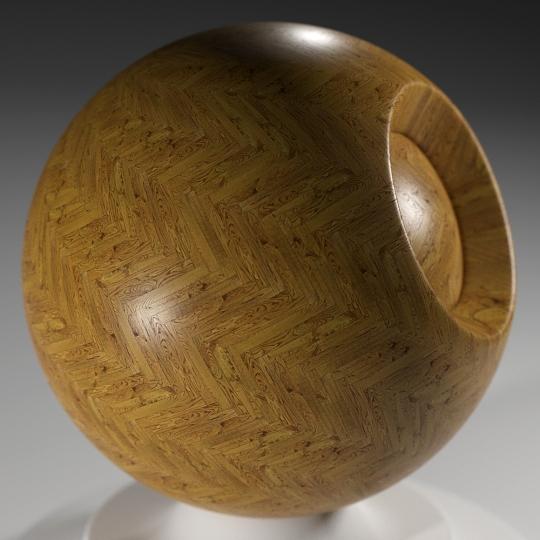 chocofur blender 3D model Wood Chocofur Wood Patterned 17