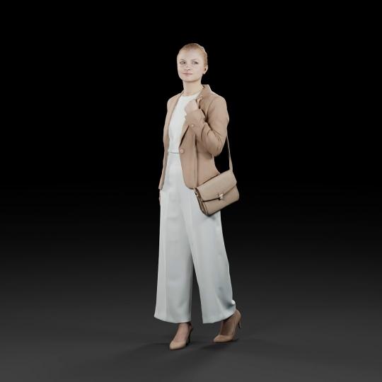 chocofur blender 3D model Elegant Humano Elegant 11