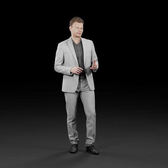 chocofur blender 3D model Elegant Humano Elegant 13