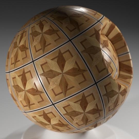 chocofur blender 3D model Wood Chocofur Wood Patterned 01