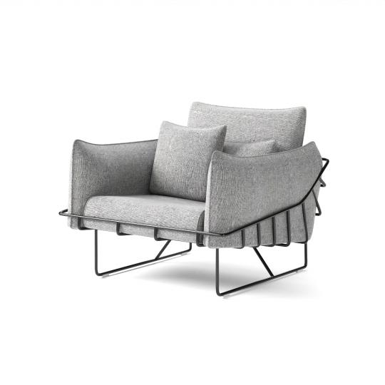 chocofur blender 3D model Lounge Lounge 33
