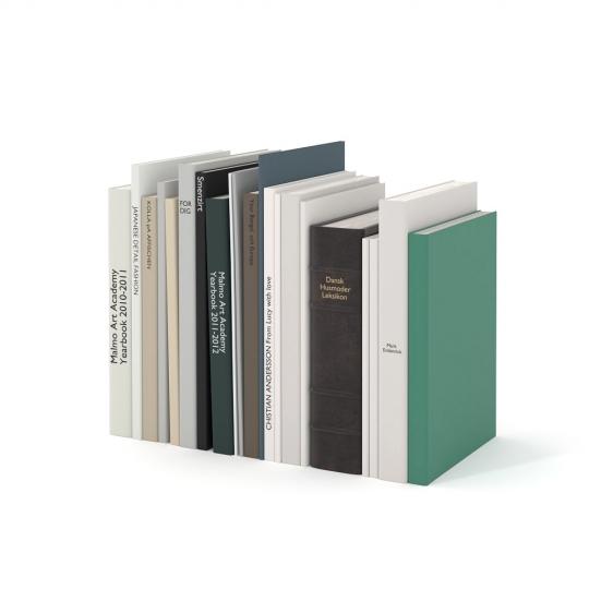 chocofur blender 3D model Books Books 03
