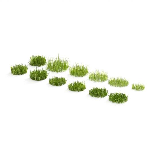 chocofur blender 3D model Grass Grass_01