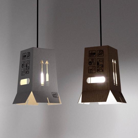 chocofur blender 3D model Lamps Light 11