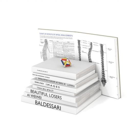 chocofur blender 3D model Books Books 10