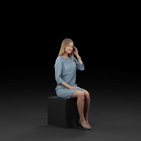 chocofur blender 3D model Diverse Humano Diverse 20