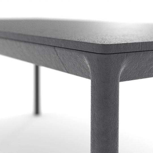 chocofur blender 3D model Tables Concrete 30