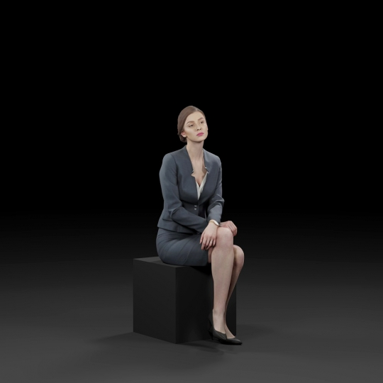 chocofur blender 3D model Business Humano Business 12